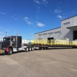 E-House Move Features New T-Lane Trailer!